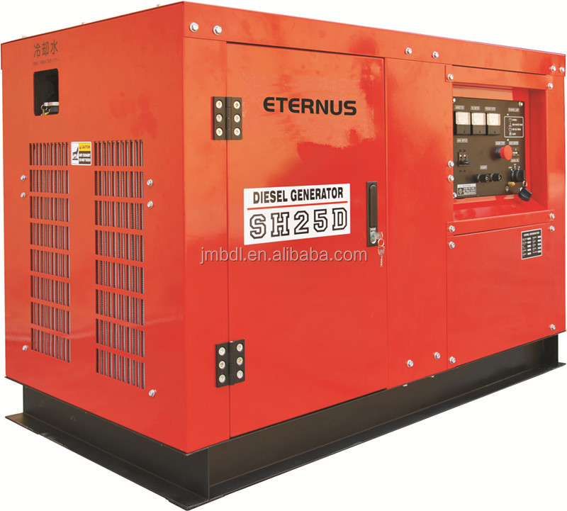 Semi-hermetic type cancopy three phase 20kw Diesel generator SHT30D