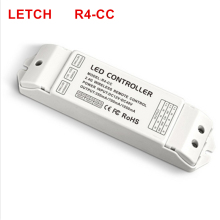 DMX512 decoder led controller dmx signal driver 2.4G wireless led dimmer ltech R4-CC constant current led receiver