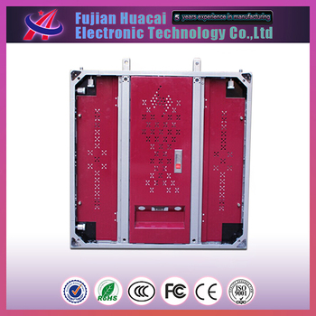 waterproof iron cabinet P10 outdoor LED display from China