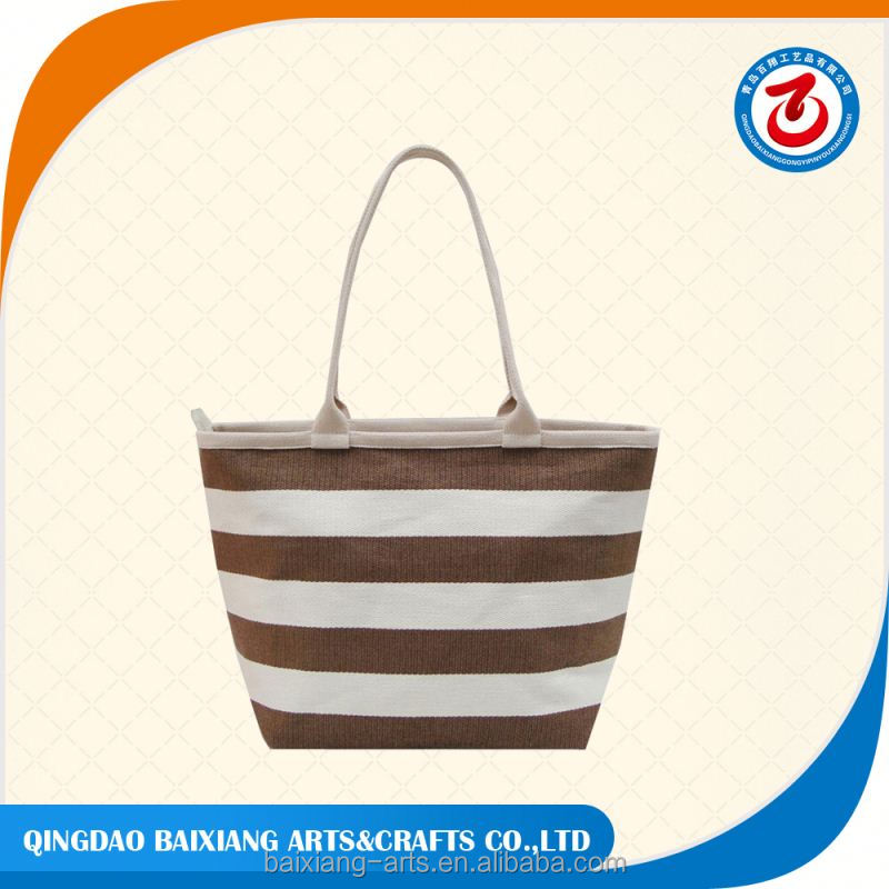 Top sell nature shopping economic paper straw bag