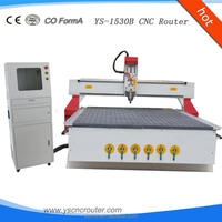 ys-1530 wood cnc router small cnc wood cutting machine 3d wood carving machine