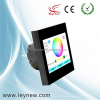 Colorful LED RGB touch screen controller