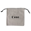 Bulk Wholesale Small Size 6oz Canvas 100% Cotton Canvas Drawstring Bag