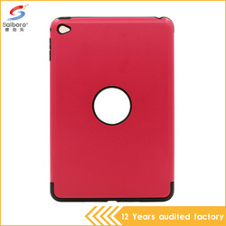 Attractive appearance high quality tpu pc 2 in 1 colorful hard case for ipad mini 4