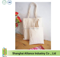 Wholesale Organic Raw Cotton 10OZ Canvas Shopping Bag With Bottom,Women Tote Handbag