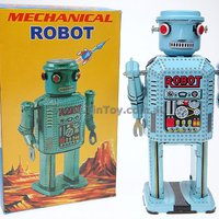 Tin Toy Mechanical Robot Eco Friendly