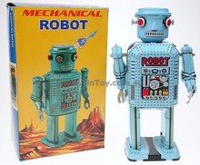 Tin Toy Mechanical Robot Eco Friendly Toy