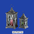 Decorative Handmade Resin Hanging Candle Lantern