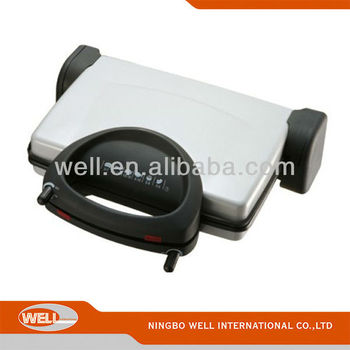 4slice detachable Sandwich press Contact Grill
