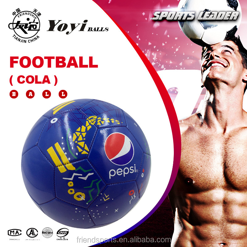 machine stitched soccer ball for PEPSI promotion