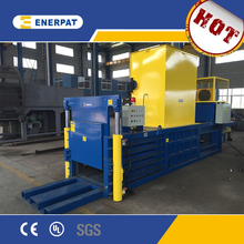 Horizontal scrap waste cardboard baler machine with CE approved