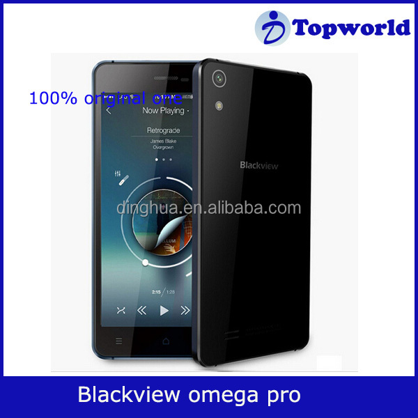 Original Blackview Omega Pro MTK6753 5Inch IPS HD Octa Core Android 5.1 4G LTE mobile Cell Phone 3G+16G ROM 13MP Camera GPS
