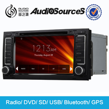 "7"" bluetooth car kit mp5 player 2 din car multimedia with GPS for vw TOUREG or Multivan"