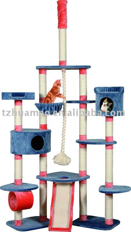 2015 new carb-certified cat tree condo furniture