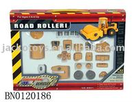 DIY road roller blocks