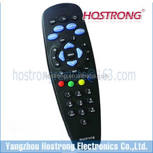 Indian popular HD black color original TATA SKY for STB remote controller