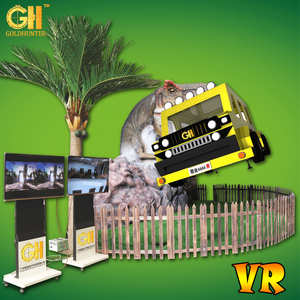 Jurassic Virtual Reality Park Animations HTC VR Simulator Outdoor Theme Park