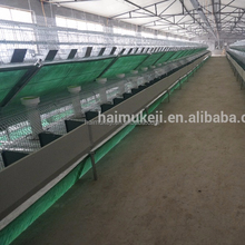 New design industrial rabbit cage with 8 doors