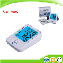 Best Digital Automatic Upper Arm Type Blood Pressure Monitor with Heartbeat Testing Color Backlight for Elderly Care Products