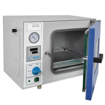 Mini Vacuum Oven with Optional Pump for Lab Materials Drying