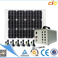 Portable 12V 40Ah Solar Power System