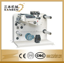 SBF-320 automatic thermal paper slitting machine slitter rewinder machine label slitting counting converting machine
