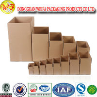 Three Layer Corrugated Paper Postal Box / Packaging Carton / Packing Paper Box