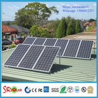 250wp 30v monocrystalline solar panel mounting with full certifications