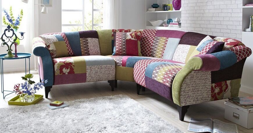 Patchwork sofa modern sofa corner sofa buy patchwork for Sofa patchwork
