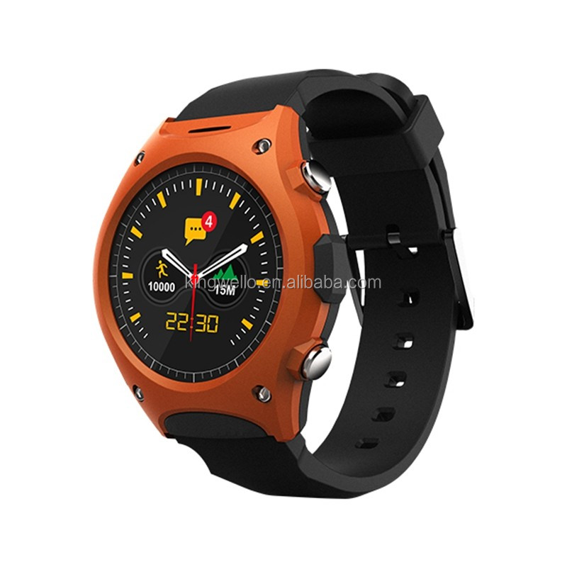 New Sport Style Outdoor Round Design Gear Bluetooth Android Smart Watch Q8 With Heart Rate