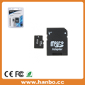 Factory 16GB 32GB TF Card Customize LOGO With Adapter