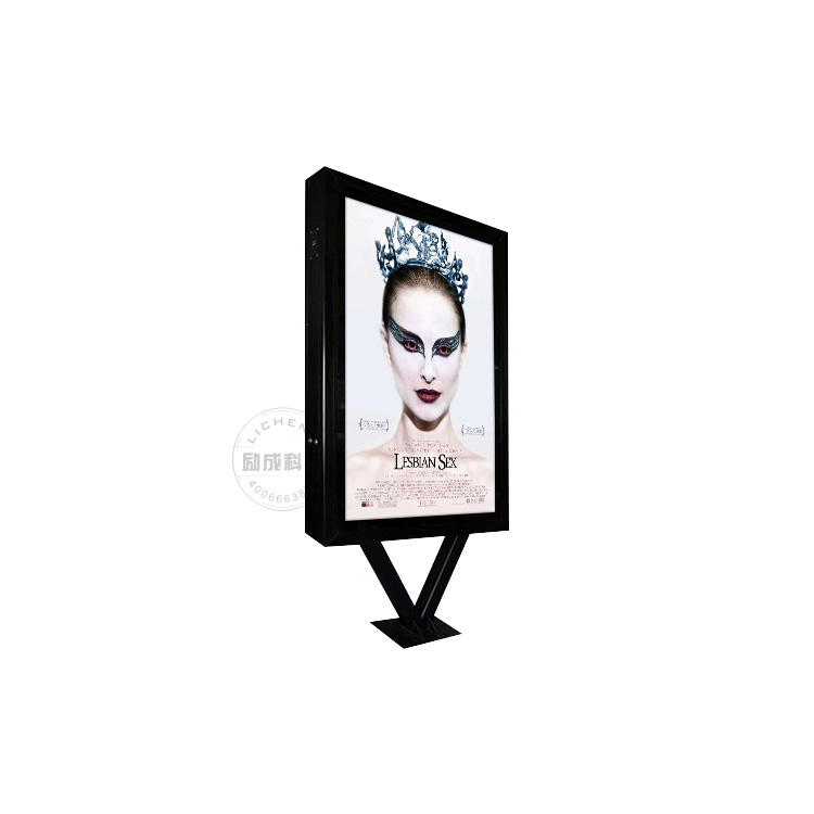 aluminum frame scrolling display signage with short delivery