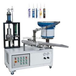 semi-automatic cartridge silicone sealant filling and capping machine