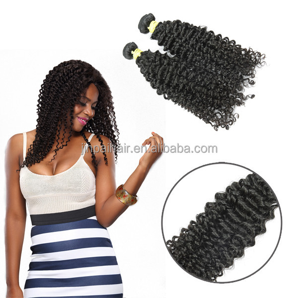 JP unprocessed factory price high quality cambodian curly human hair