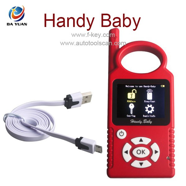 2016 Top selling CBAY Handy Baby Car Key Copy for Transponder Key maker Programmer for 4D 46 48 Chip Programmer AKP101