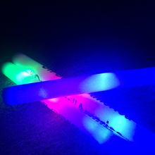 Hot sell new style party concert event RGB flashing cheering light LED foam glow stick