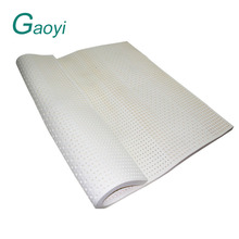 Milk White 100% Natural Latex Foam Bed Mattress for Sleeping