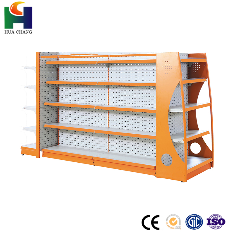 metallic material 6 tier inclined frames supermarket shelves dimensions in mauritius shelving