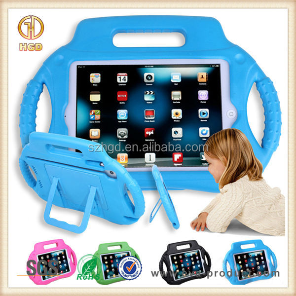 Kid safe funny Radio design anti shock EVA stand cover case tablet