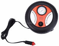 Portable Mini DC 12V Electric Car Inflatable Pump Pumping Air Tire Pumps Tyre Pressure Monitor Compressor for Bike Motor Ball
