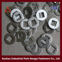China Supplier Ikea Furniture Fasteners Square Hole Washer Low Carbon Steel