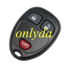 High quality buick-R06 buick remote keys car key remote Buick 2+1 button remote key blank with 315mhz remote control