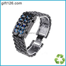 LED Watch, Iron Samurai Led Watch, Lava Style LED Watch