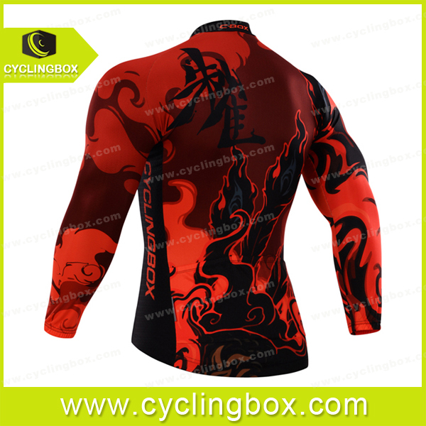 Wild pro team cycling wear/bicycle apparel/biking jersey with thermal