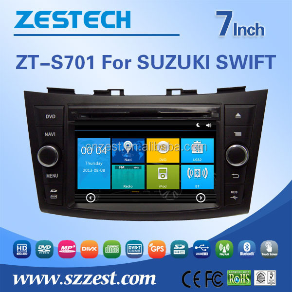 7inch 2din android tough screen car dvd player for SUZUKI SWIFT 2004-2010 car radio