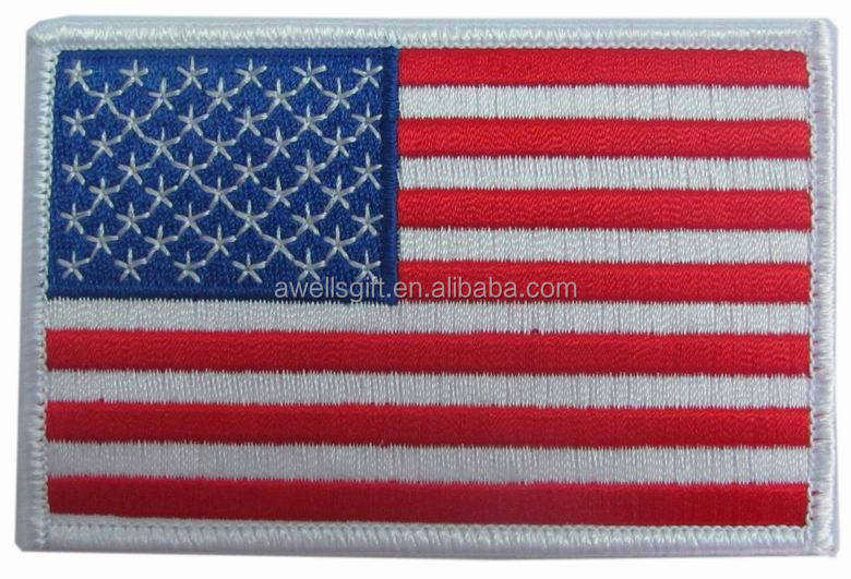 USA American Flag Embroidered Patch