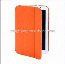 newest 3-fold Leather Case for Samsung N5100,All color are available OEM are accepted