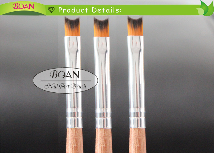 BQAN Factory Direct Newest Rosewood Handle Nail Art French Nail Brush