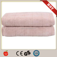 2016 new products comfortable 220v electric heating blanket for winter bed warmer from China CE GS factory