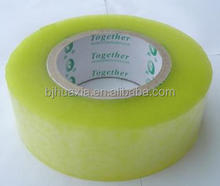 clear packaging tape / BOPP adhesive tape / opp packing tape OEM manufacturer hot sale on taobao